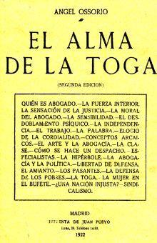 ALMA DE LA TOGA, EL