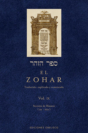 ZOHAR, EL / VOL. 9 / PD.