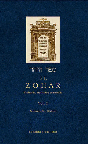 ZOHAR, EL / VOL. 10 / PD.