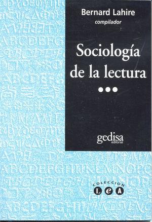 SOCIOLOGIA DE LA LECTURA