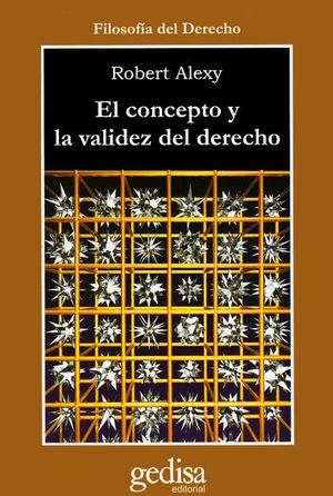 CONCEPTO Y LA VALIDEZ DEL DERECHO, EL