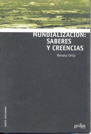 MUNDIALIZACION SABERES Y CREENCIAS