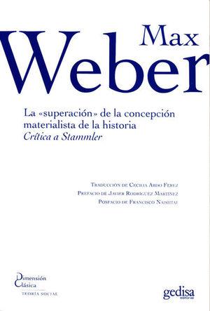 SUPERACION DE LA CONCEPCION MATERIALISTA DE LA HISTORIA