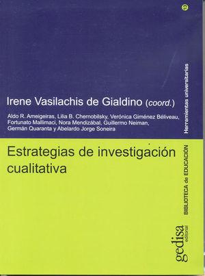 ESTRATEGIAS DE INVESTIGACION CUALITATIVA