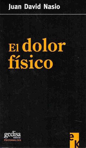 DOLOR FISICO, EL