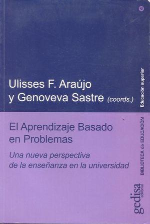 APRENDIZAJE BASADO EN PROBLEMAS, EL