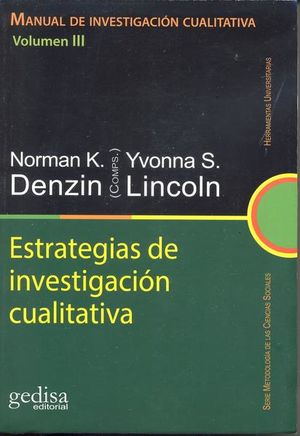 MANUAL DE INVESTIGACION CUALITATIVA VOL. III