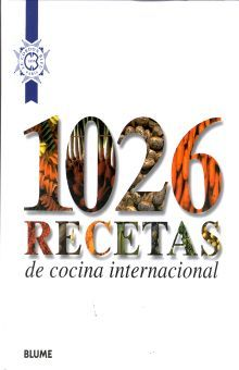 1026 RECETAS DE COCINA INTERNACIONAL / PD.