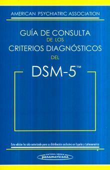 DSM 5. GUIA DE CONSULTA DE LOS CRITERIOS DIAGNOSTICOS