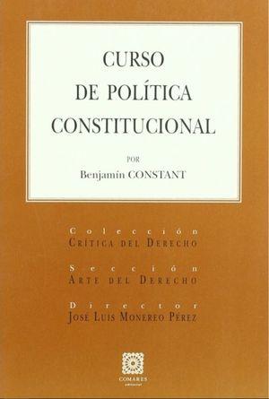 CURSO DE POLITICA CONSTITUCIONAL