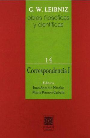 CORRESPONDENCIA 1 / OBRAS FILOSOFICAS Y CIENTIFICAS 14 / PD.