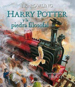 HARRY POTTER Y LA PIEDRA FILOSOFAL / PD. (EDICION ILUSTRADA)