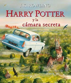 HARRY POTTER 2. HARRY POTTER Y LA CAMARA SECRETA / PD. (EDICION ILUSTRADA)