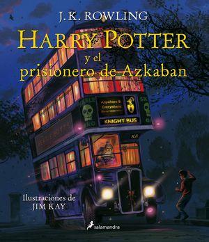 HARRY POTTER Y EL PRISIONERO DE AZKABAN / ED. ILUSTRADA / PD.
