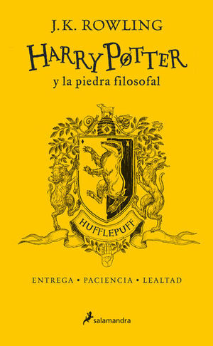 HARRY POTTER 1. HARRY POTTER Y LA PIEDRA FILOSOFAL HUFFLEPUFF / PD.
