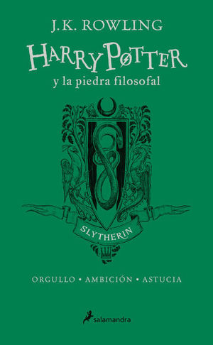 HARRY POTTER 1. HARRY POTTER Y LA PIEDRA FILOSOFAL SLYTHERIN / PD.