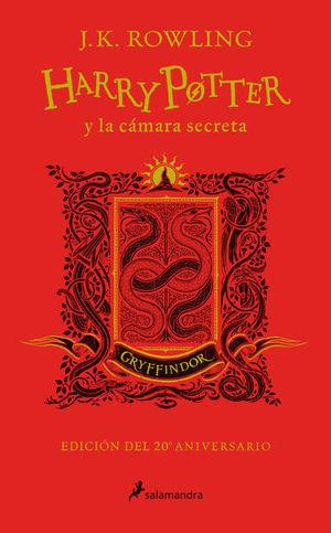 Harry Potter y la cámara secreta. Gryffindor (Edición 20 Aniversario)