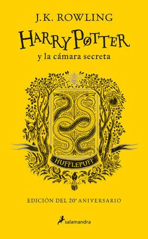Harry Potter y la cámara secreta. Huffepluf (Edición 20 Aniversario)
