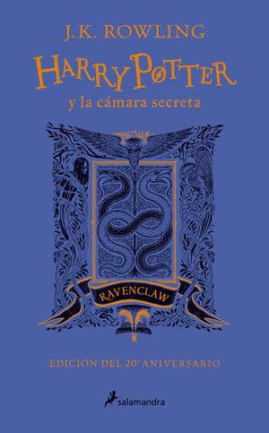 Harry Potter y la cámara secreta. Revenclaw (Edición 20 Aniversario)
