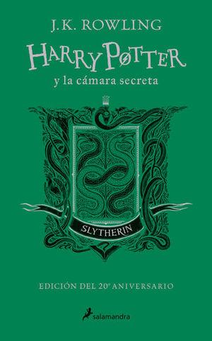 Harry Potter y la cámara secreta. Slytherin (Edición 20 Aniversario)