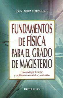 FUNDAMENTOS DE FISICA PARA EL GRADO DE MAGISTERIO