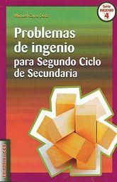 PROBLEMAS DE INGENIO PARA SEGUNDO CICLO DE SECUNDARIA
