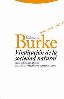 VINDICACION DE LA SOCIEDAD NATURAL / PD.