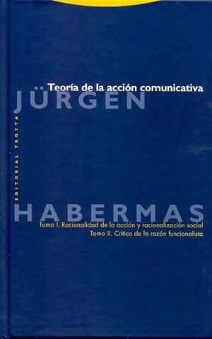 TEORIA DE LA ACCION COMUNICATIVA / PD.