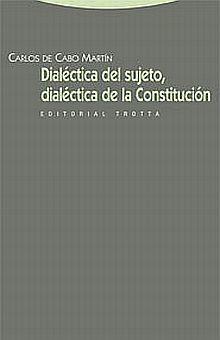 DIALECTICA DEL SUJETO DIALECTICA DE LA CONSTITUCION