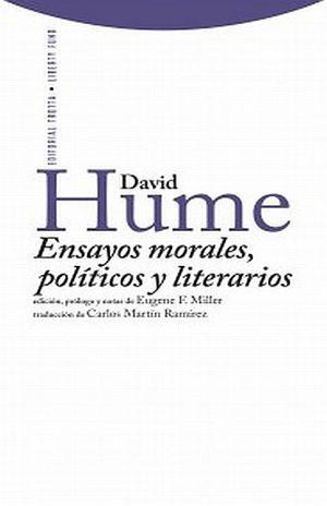 ENSAYOS MORALES POLITICOS Y LITERARIOS / PD.