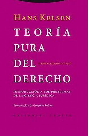 TEORIA PURA DEL DERECHO. INTRODUCCION A LOS PROBLEMAS DE LA CIENCIA JURIDICA