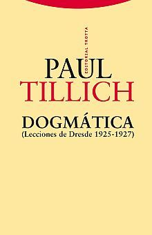 DOGMATICA (LECCIONES DE DRESDE 1925 - 1927)