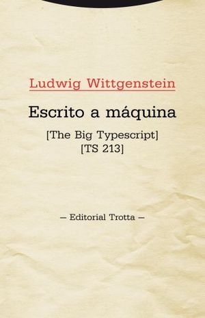 ESCRITO A MAQUINA. THE BIG TYPESCRIPT TS 213
