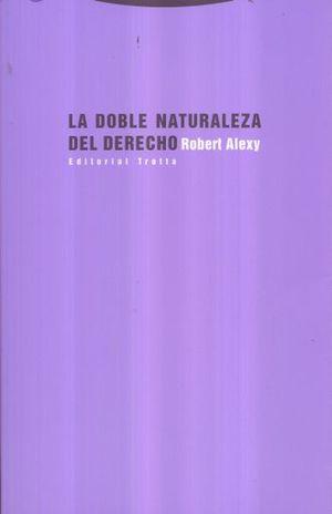 DOBLE NATURALEZA DEL DERECHO, LA