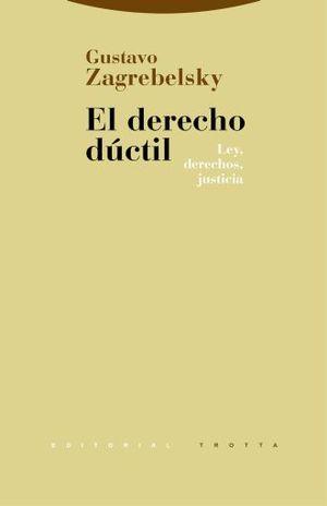 DERECHO DUCTIL, EL. LEY DERECHOS JUSTICIA