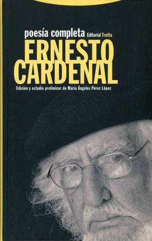 Poesía completa. Ernesto Cardenal / pd.