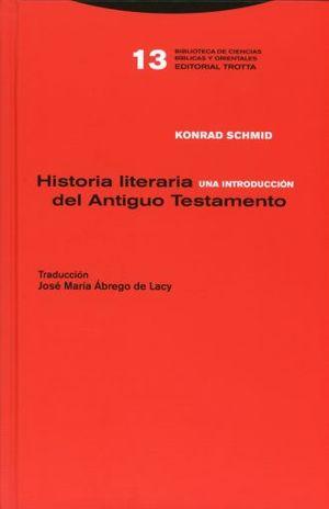 HISTORIA LITERARIA DEL ANTIGUO TESTAMENTO / PD.