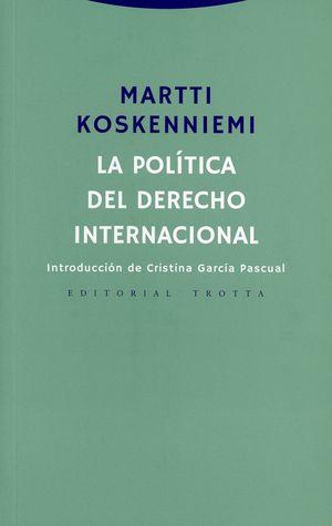 La política del derecho internacional
