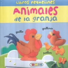 ANIMALES DE LA GRANJA / LIBROS PEQUEÑINES / PD.