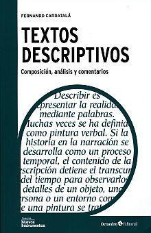 TEXTOS DESCRIPTIVOS. COMPOSICION ANALISIS Y COMENTARIOS