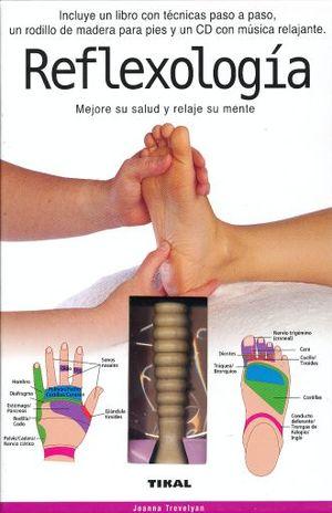 REFLEXOLOGIA (INCLUYE RODILLO DE MADERA Y CD)