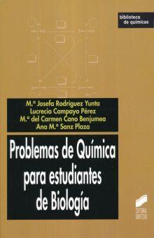 PROBLEMAS DE QUIMICA PARA ESTUDIANTES DE BIOLOGIA