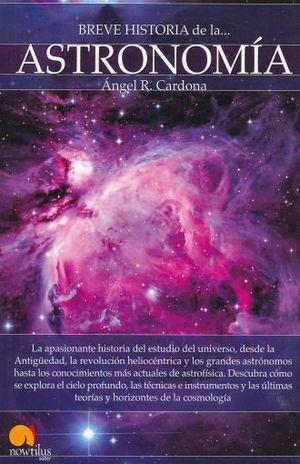 BREVE HISTORIA DE LA ASTROMIA