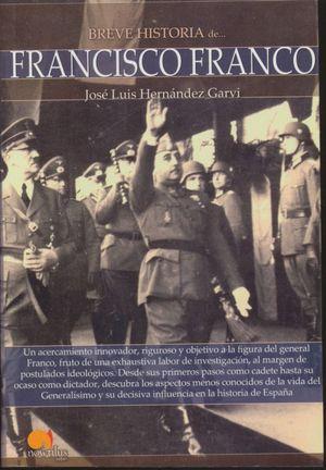 BREVE HSITORIA DE FANCISCO FRANCO
