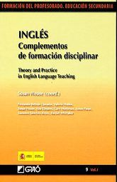 INGLES. COMPLEMENTOS DE FORMACION DISCIPLINAR / VOL. I