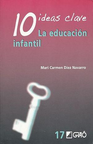 10 IDEAS CLAVE. LA EDUCACION INFANTIL