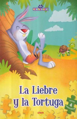 LIEBRE Y LA TORTUGA, LA / LIBRO ROMPECABEZAS / PD.