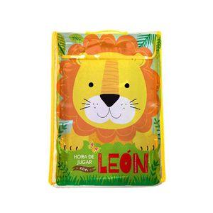 Hora de jugar con León. Libro tela