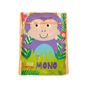 Hora de cantar con Mono. Libro tela