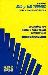 VOCABULARIO PARA DIREITO SOCIETARIO PORTUGUES / INGLES